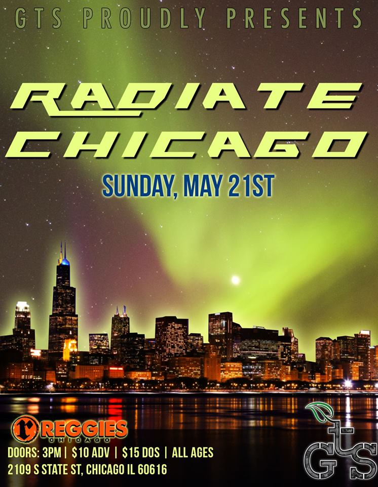 aviatrix on fire - radiate chicago - reggies -05 21 18